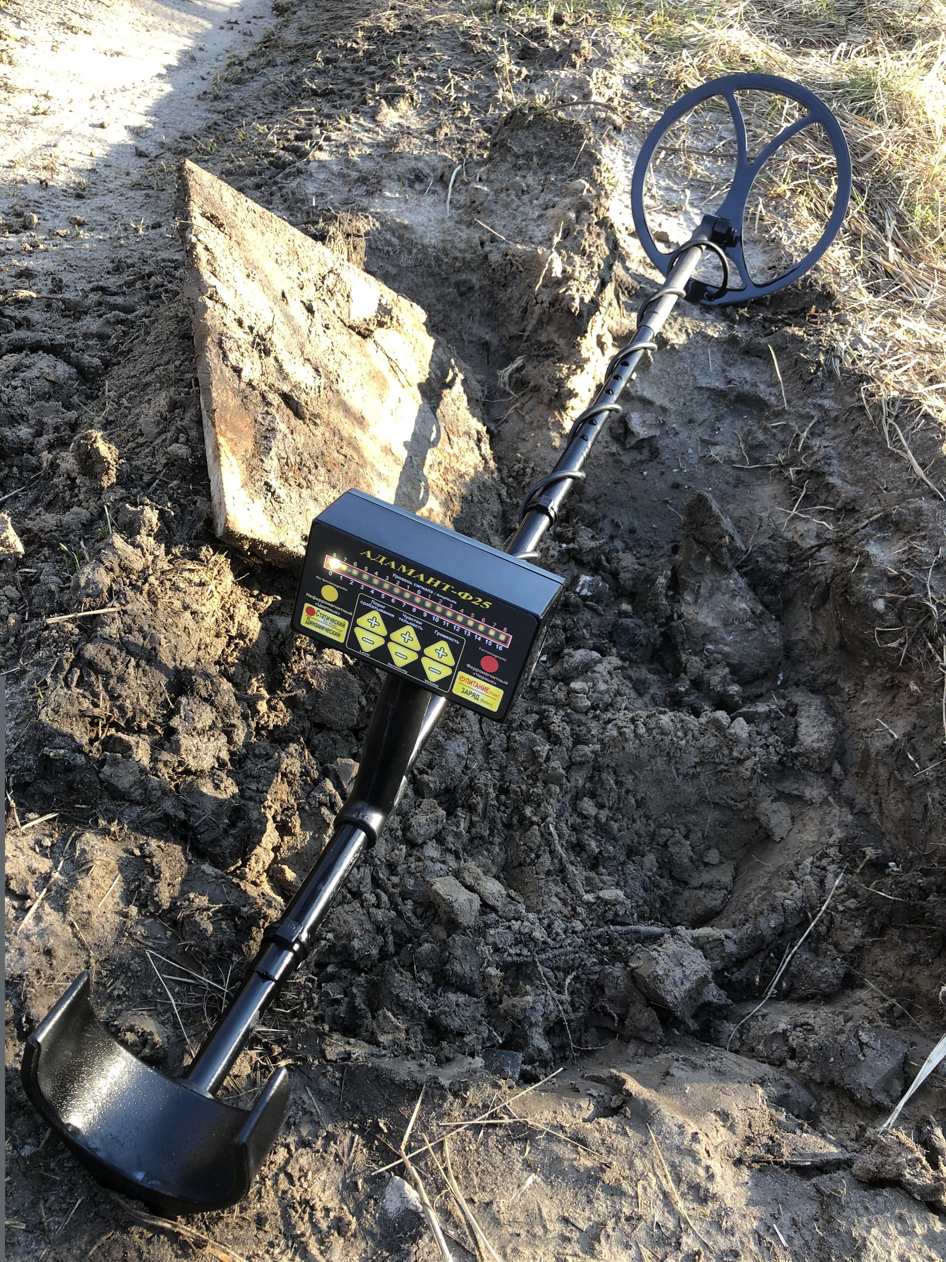Металлоискатель бетон как сделать цементный раствор на кладку кирпича